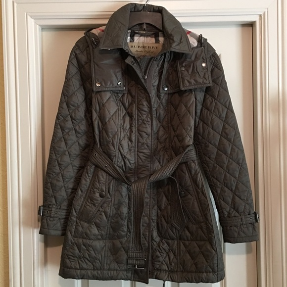dbbf49054e07 Burberry  Baughton  Quilted Coat